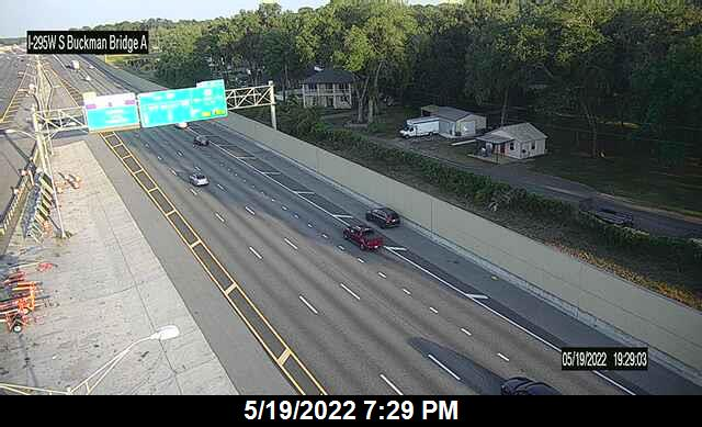 I-295 W at S Buckman Bridge - Southbound - 346 - Florida