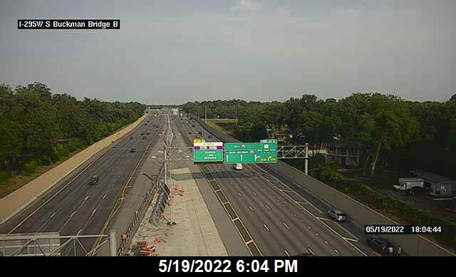 I-295 W at S Buckman Bridge - Southbound - 347 - Florida
