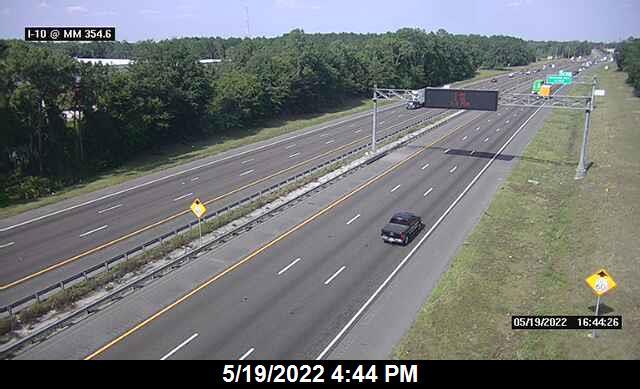 I-10 W of Hammond Blvd - Eastbound - 356 - Florida