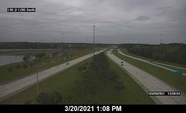 I-95 at I-295 / 9A South - Southbound - 368 - Florida
