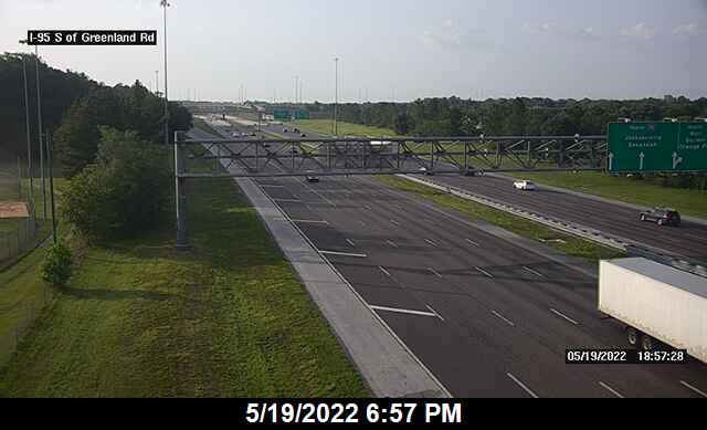 I-95 S of Greenland Rd - Southbound - 369 - Florida
