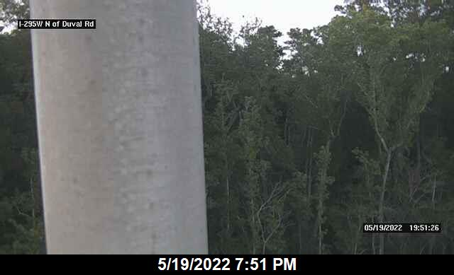 I-295 W N of Duval Rd - Southbound - 449 - Florida
