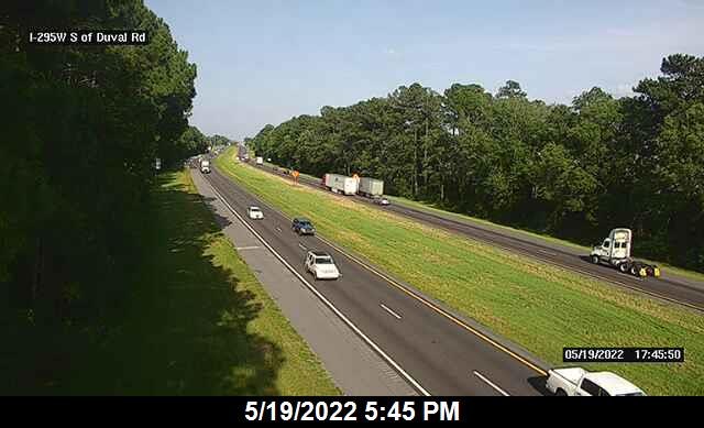 I-295 W S of Duval Rd - Southbound - 451 - Florida