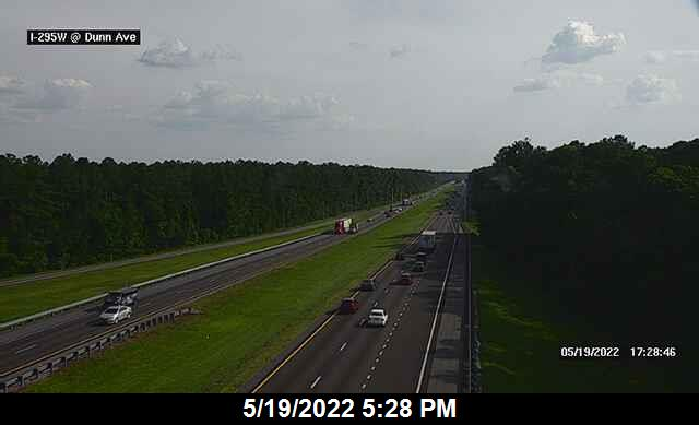 I-295 W at Dunn Ave - Southbound - 457 - Florida