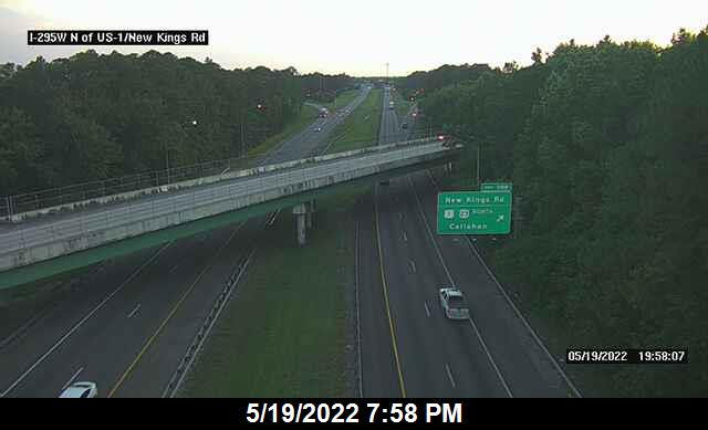 I-295 W N of US-1 / New Kings Rd - Southbound - 459 - Florida