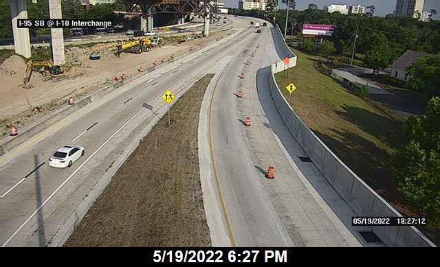 I-10 at I-95 SB - Eastbound - 539 - Florida