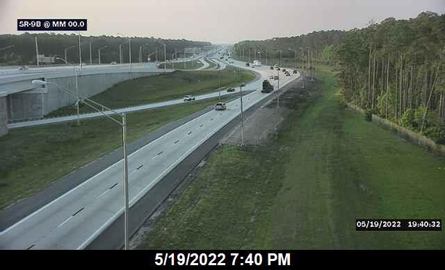 SR-9B at I-295 E - Northbound - 598 - Florida
