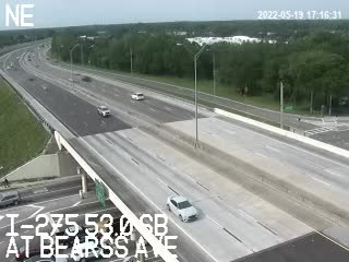 I-275 at Bearss Ave - Southbound - 424 - Florida