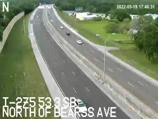 I-275 S at 53.3 SB - Southbound - 425 - Florida