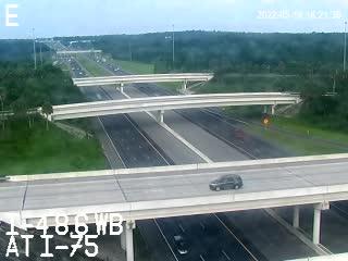 I-4 at I-75 - Westbound - 436 - Florida