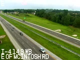 I-4 E of McIntosh Rd - Westbound - 516 - Florida