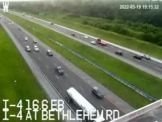 I-4 at Bethlehem Rd - Eastbound - 518 - Florida
