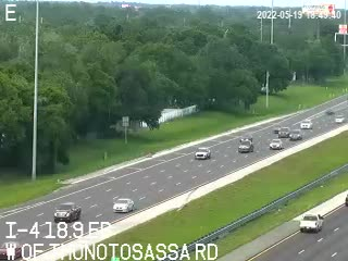 I-4 W of Thonotosassa Rd - Eastbound - 520 - Florida