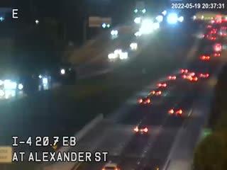 I-4 at Alexander St - Eastbound - 522 - Florida