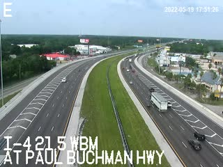 I-4 at Paul Buchman Hwy - Westbound - 532 - Florida