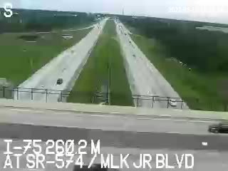 I-75 at SR 574 / MLK Jr Blvd - Southbound - 540 - Florida