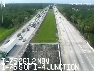 I-75 S of I-4 Junction - Northbound - 541 - Florida