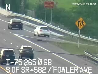 I-75 S of SR-582 / Fowler Ave - Southbound - 544 - Florida