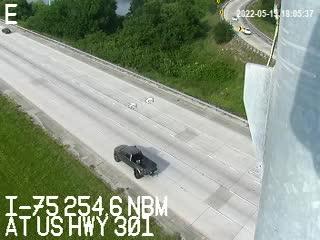 I-75 at US Hwy 301 - Northbound - 547 - Florida