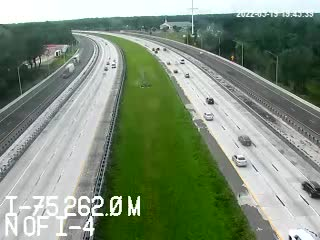 I-75 N of I-4 - Unknown - 553 - Florida