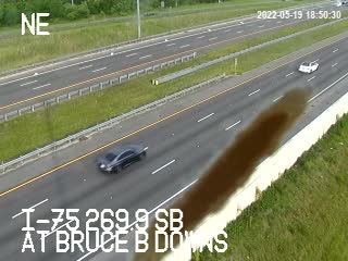 At Bruce B Downs - Southbound - 695 - Florida