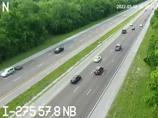 I-275 N at 57.8 NB - Northbound - 739 - Florida