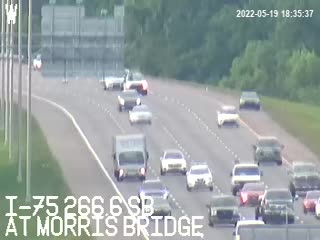 I-75 at Morris Bridge - Southbound - 800 - Florida