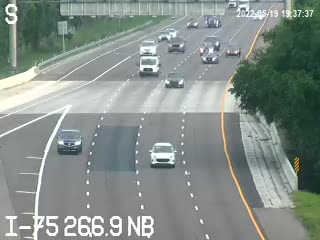 I-75 NB at MM 266.9 - Northbound - 801 - Florida