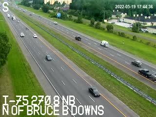 I-75 N of Bruce B Downs - Unknown - 807 - Florida