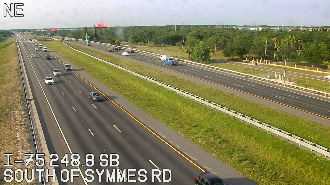 South of Symmes Rd - Southbound - 817 - Florida