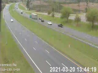 I-10 MM 133.1 EB (HAR-B/Rest Area) - Eastbound - 288 - Florida