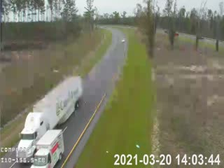 I-10 MM 156.5 WB - Westbound - 307 - Florida