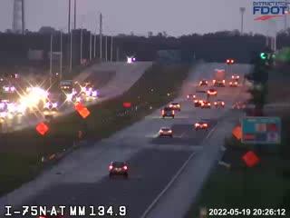 I75N N/O Daniels M135 - Northbound - 604 - Florida