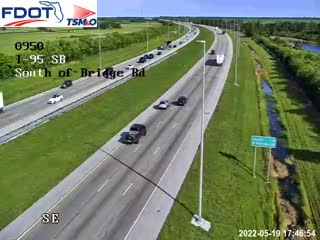 I-95 MP 95.0 Southbound - Southbound - 340 - Florida
