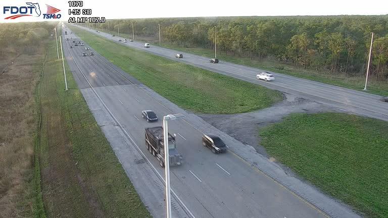 I-95 MP 107.0 Southbound - Southbound - 350 - Florida