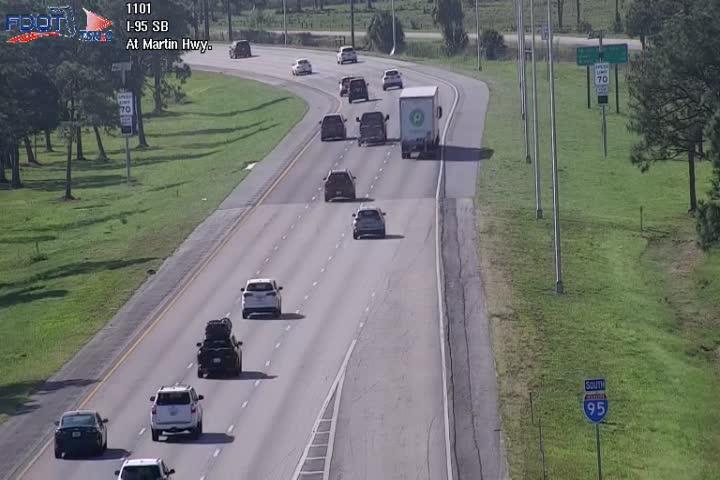 I-95 MP 110.0 Southbound - Southbound - 489 - Florida