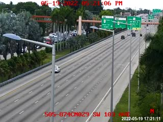 (505) SR-874 at SW 103rd Ave - Northbound - 625 - Florida