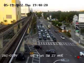 US-1 at Southwest 27th  Avenue - Northbound - 772 - Florida