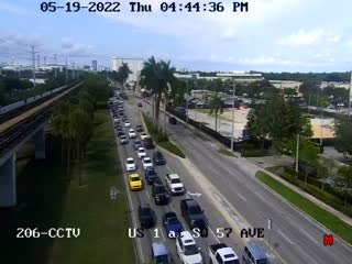 US-1 at Southwest 57th  Avenue - Southbound - 776 - Florida