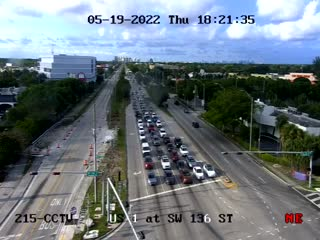 US-1 at Southwest 136th Street - Northbound - 783 - Florida