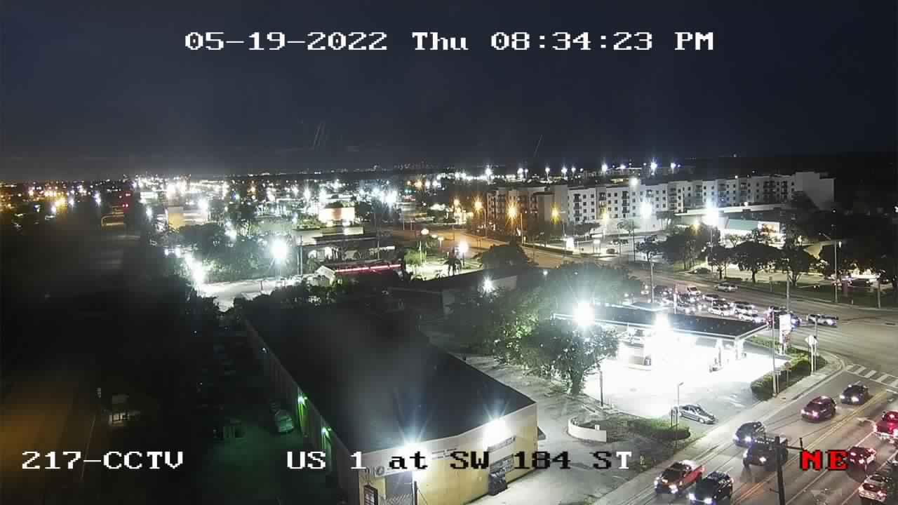 US-1 at Southwest 184th Street - Northbound - 785 - Florida