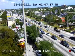 US-1 at Southwest 112th  Avenue - Northbound - 787 - Florida