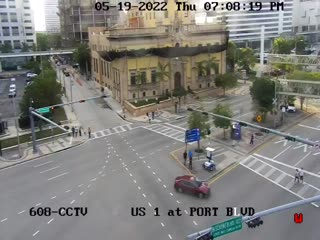 US-1 at Port Boulevard - Northbound - 847 - Florida