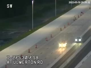 I-275 at Ulmerton Rd - Southbound - 492 - Florida