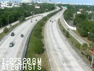 I-275 median at 28th St S - Northbound - 642 - Florida