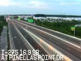 I-275 S at 16.9 SB - Southbound - 732 - Florida