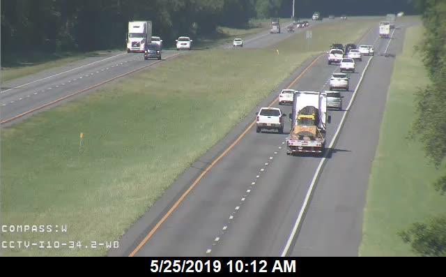 I-10 MM  34.2 WB - Westbound - 189 - Florida
