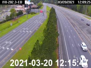 at CR-89/Ward Basin Rd - Eastbound - 580 - Florida