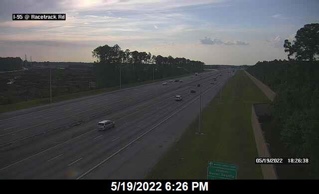 I-95 at Race Track Rd - Northbound - 375 - Florida