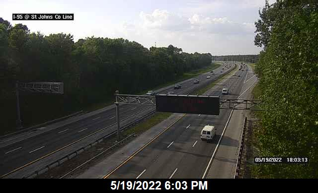 I-95 at St Johns County Rest Area - Northbound - 376 - Florida